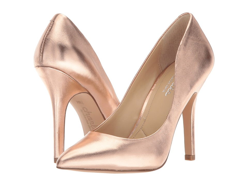Charles by Charles David Maxx (Rose Gold Metallic) High Heels