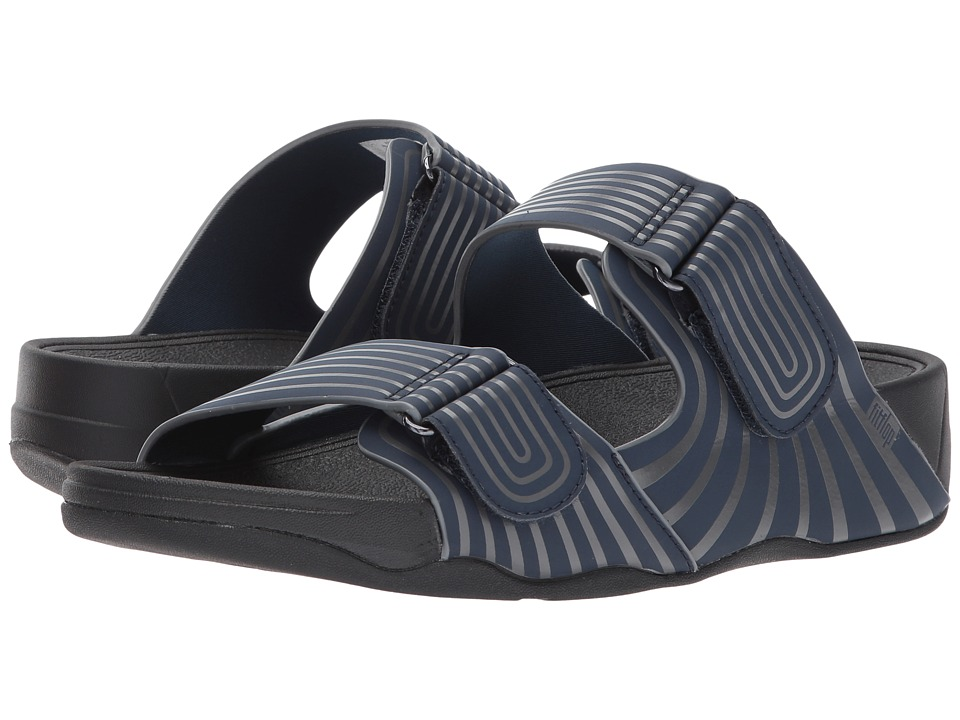 FitFlop - Gogh Sport Slide Adjustable (Midnight Navy) Men's Sandals