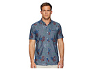 Levi's(r) Ozo Printed Chambray Short Sleeve Shirt
