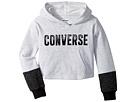 Converse Kids Lurex Fleece Pullover (Toddler/Little Kids)