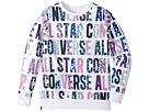 Converse Kids All Over Printed Pullover (Big Kids)