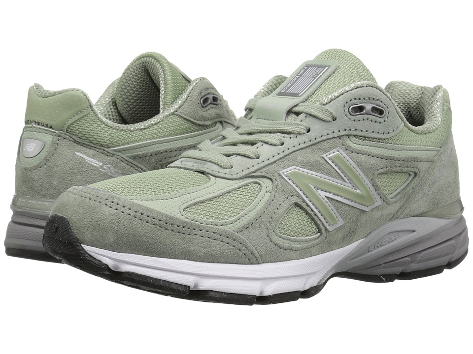 New Balance W990v4 (Silver Mint/Silver Mint) Women's Running Shoes