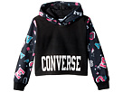 Converse Kids Printed Cropped Pullover (Toddler/Little Kids)