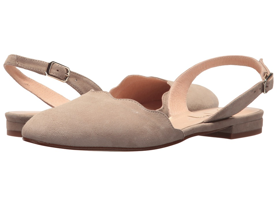French Sole Book (Taupe Suede) Women