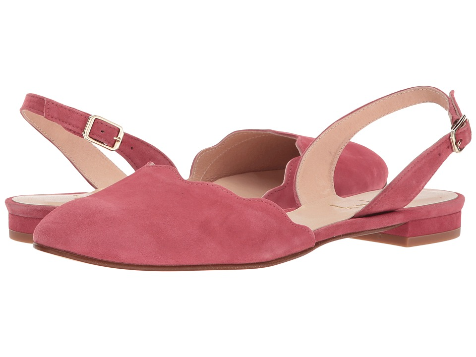 French Sole Book (Rose Suede) Women