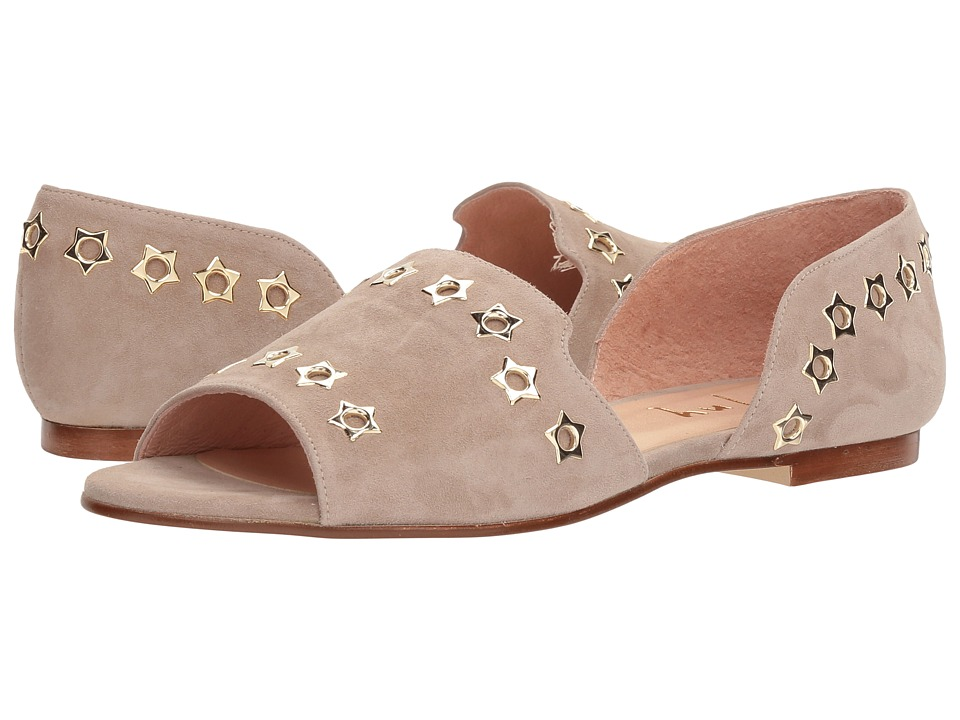French Sole Whistle 2 (Taupe Suede) Women