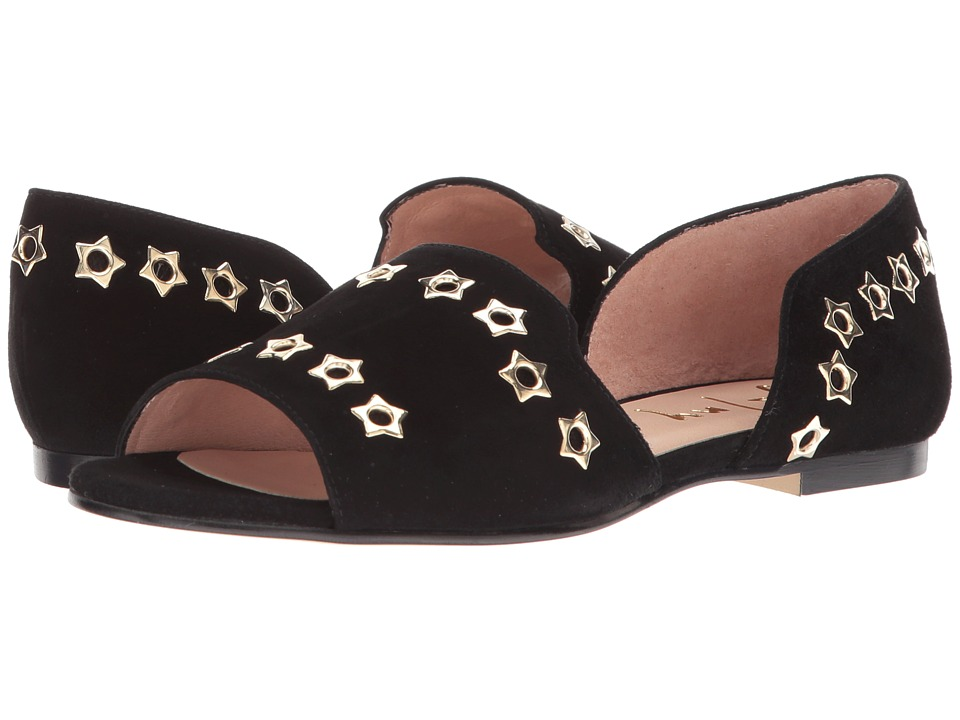 French Sole Whistle 2 (Black Suede) Women