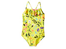 Oscar de la Renta Childrenswear Springfield Ruffle Swimsuit (Toddler/Little Kids/Big Kids)