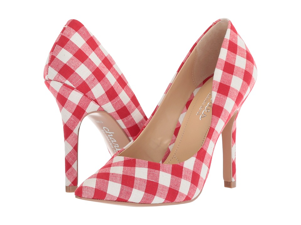 Charles by Charles David Maxx (Red/White Gingham) High Heels