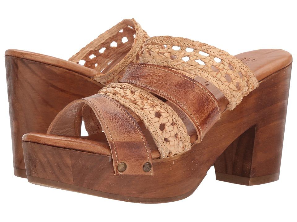 Bed Stu Crystal (Tan Rustic/Bone Rustic Leather) Women