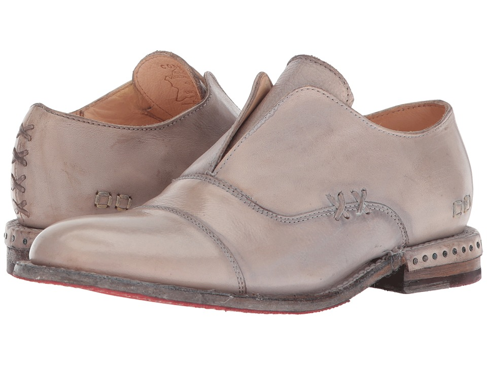 Bed Stu - Rose (Light Grey Glove Leather) Womens Shoes