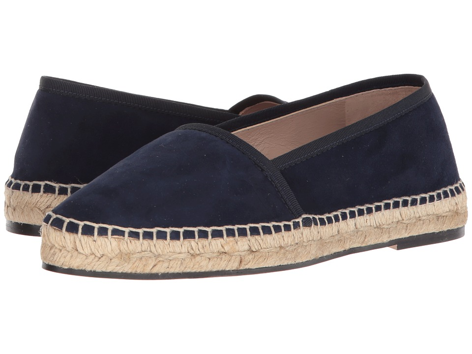 Stuart Weitzman Evon (French Navy Seda Suede) Women's Shoes