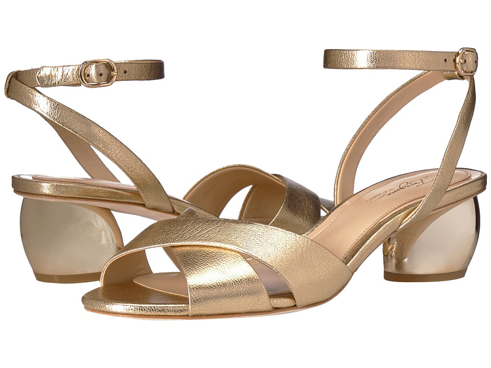 Imagine Vince Camuto - Leven 2 (Soft Gold Fine Tumbled Metallic) High Heels