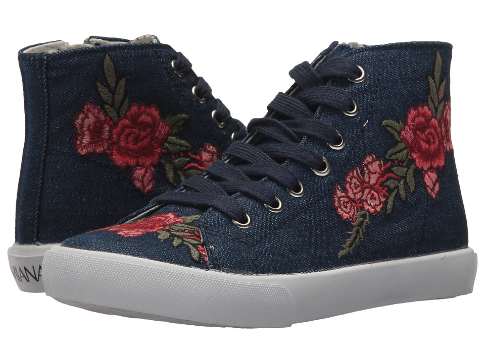 Image of Amiana - 15-A5504 (Toddler/Little Kid/Big Kid/Adult) (Navy Denim) Girl's Shoes