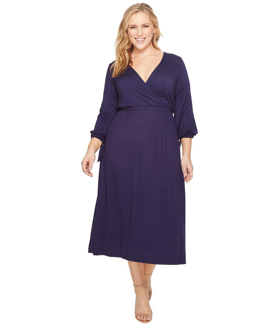 Rachel Pally Plus Size Pari Dress White Label (Jetset) Women