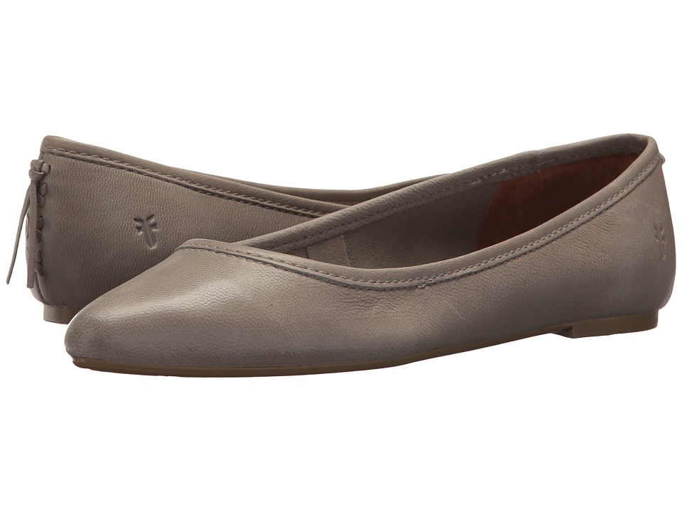 Frye - Regina Ballet (Ash) Womens Slip on  Shoes