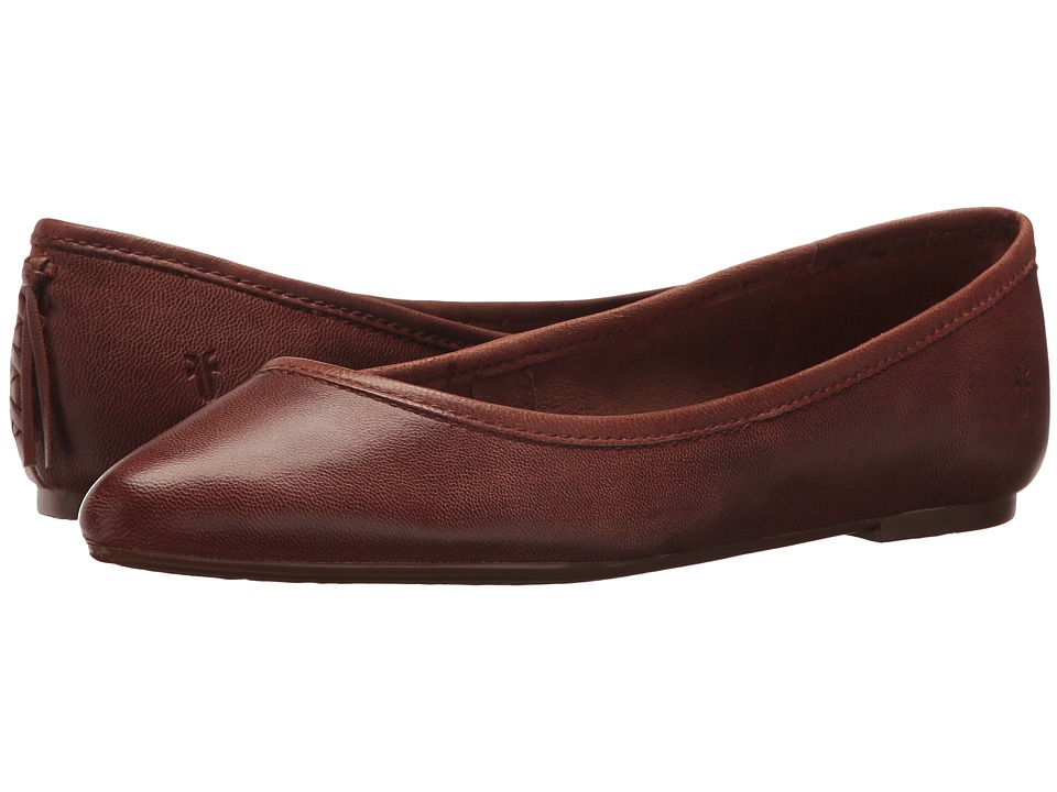 Frye Regina Ballet (Cognac) Slip-On Shoes