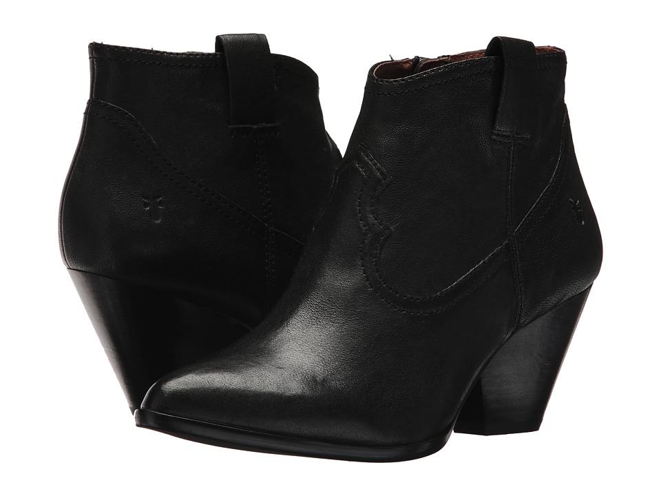 Frye - Reina Bootie (Black 1) Cowboy Boots