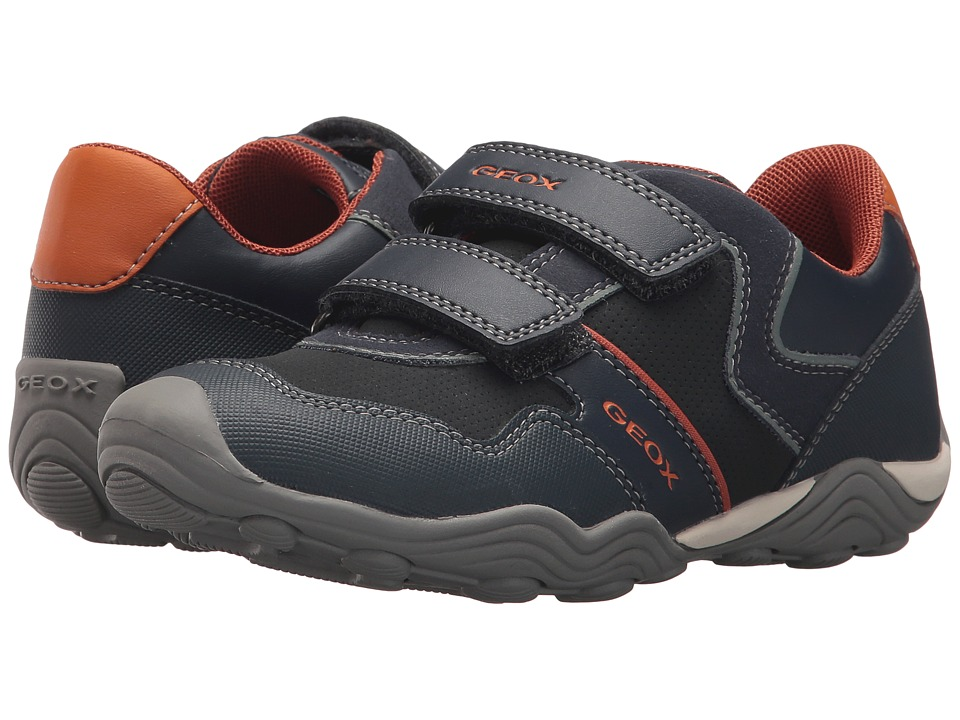 Geox Kids - Jr Arno 13 (Little Kid/Big Kid) (Dark Orange) Boys Shoes