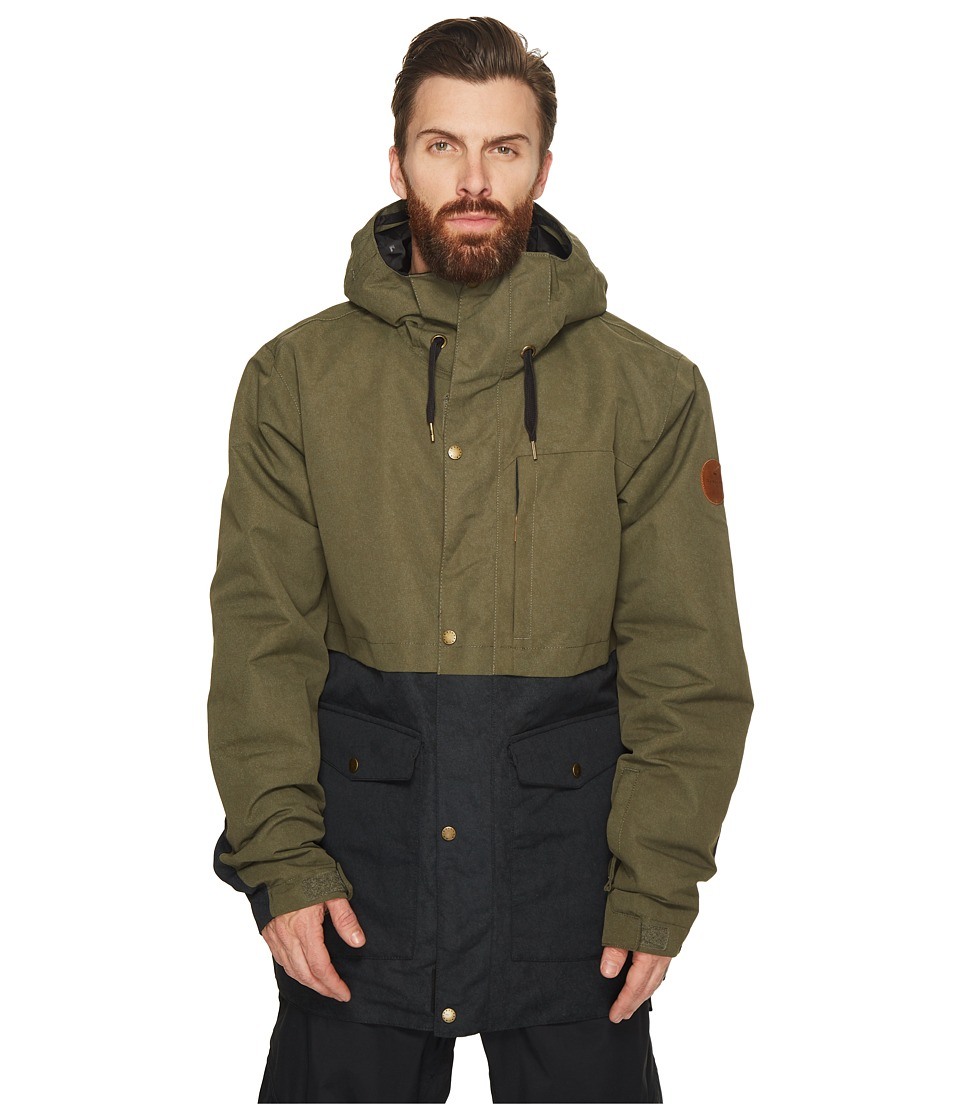 Quiksilver Horizon Jacket (Grape Leaf) Men's Coat