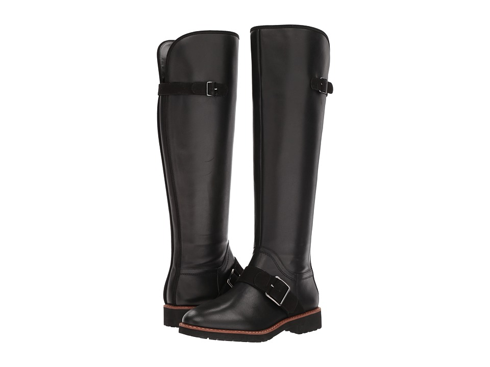 Franco Sarto - Cutler (Black Leather) Womens Boots
