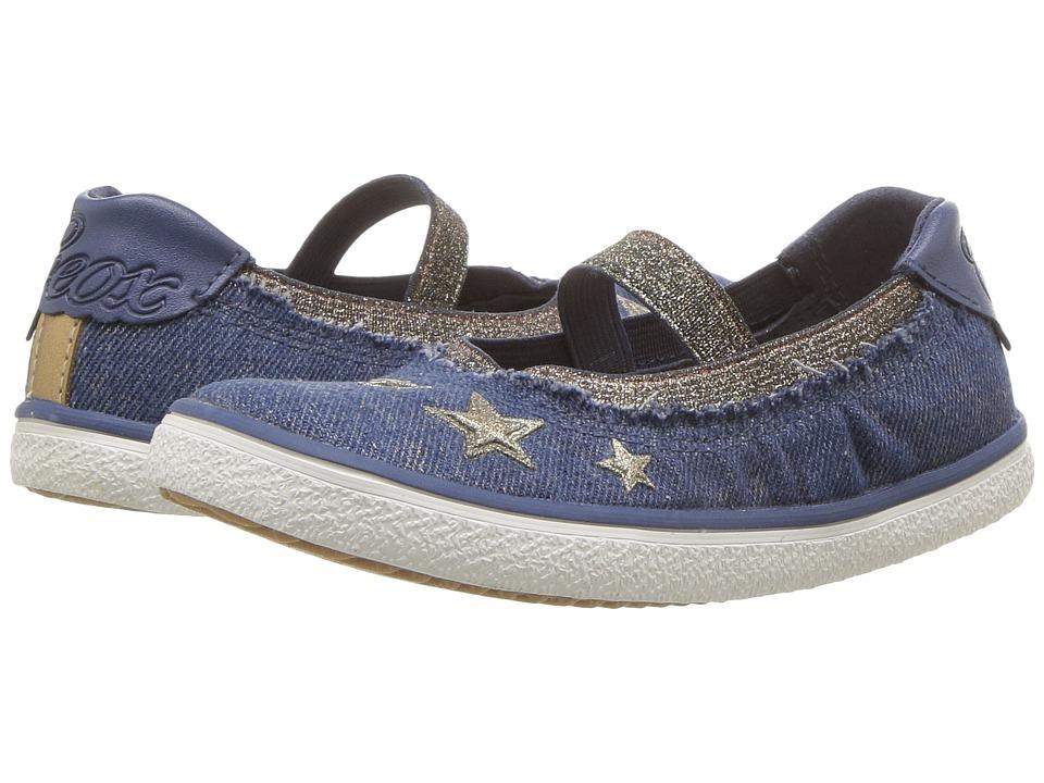 Geox Kids - Kilwi 16 (Toddler/Little Kid) (Avio) Girls Shoes