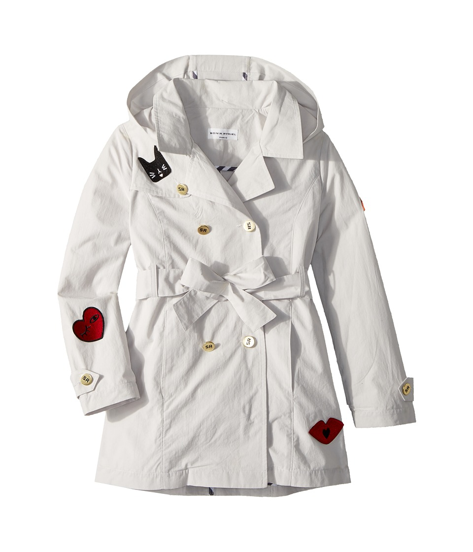 Sonia Rykiel Kids - Alara Trench Coat w/ Patch Detail (Big Kids) (Sand) Girls Coat