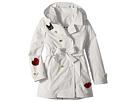 Sonia Rykiel Kids Alara Trench Coat w/ Patch Detail (Big Kids)