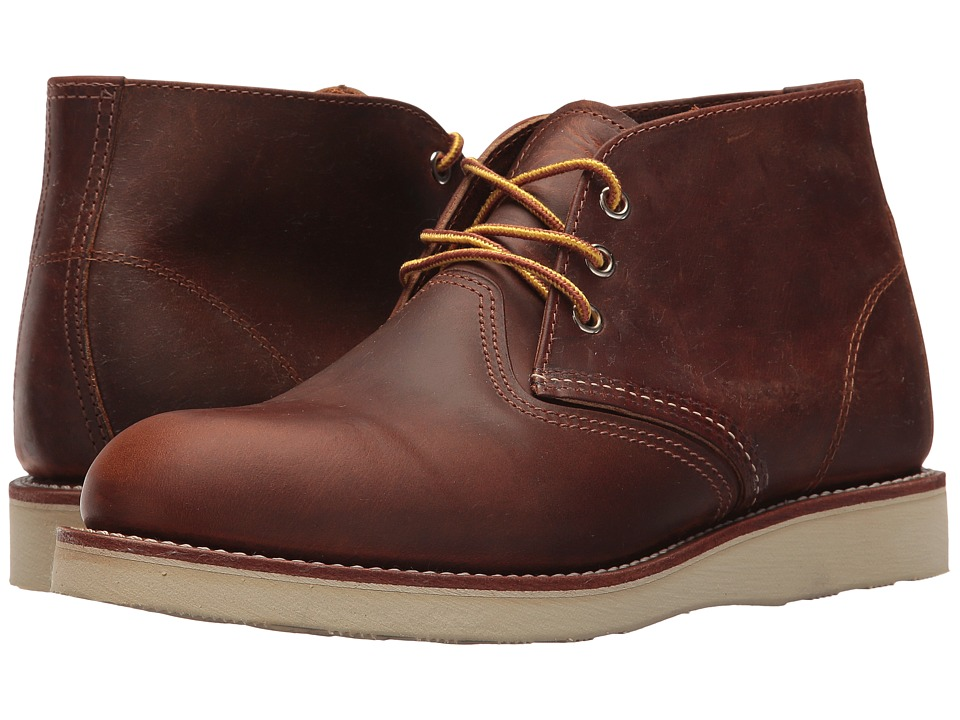 Red Wing Heritage - Work Chukka (Copper Rough & Tough) Mens Lace-up Boots