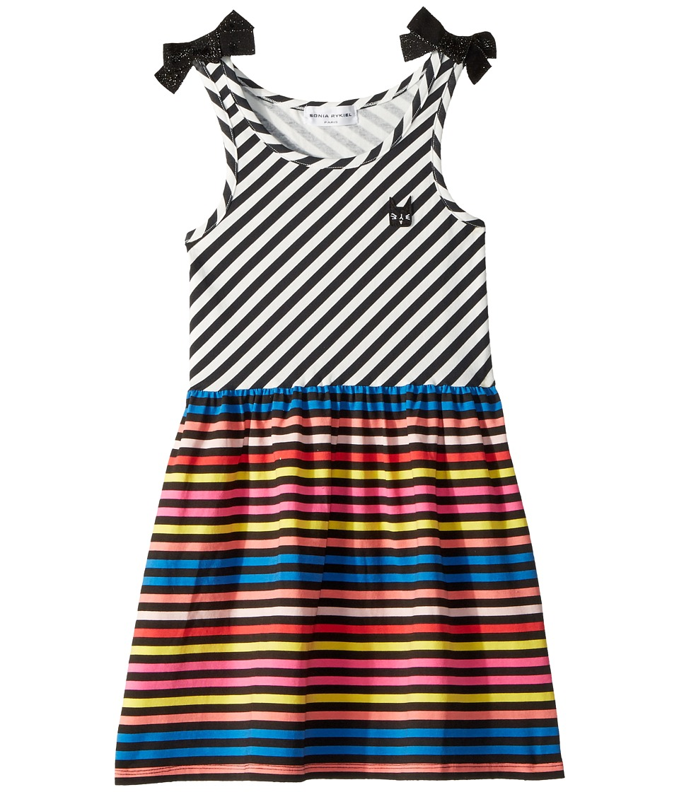 Sonia Rykiel Kids - Akasa Sleeveless Multi Striped Dress (Toddler/Little Kids/Big Kids) (Stripes) Girls Dress