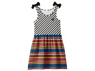 Sonia Rykiel Kids Akasa Sleeveless Multi Striped Dress (Toddler/Little Kids/Big Kids)