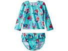 Hatley Kids Underwater Kingdom Mini Rashguard Set (Infant)