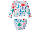 Hatley Kids Ocean Treasures Mini Rashguard Set (Infant)
