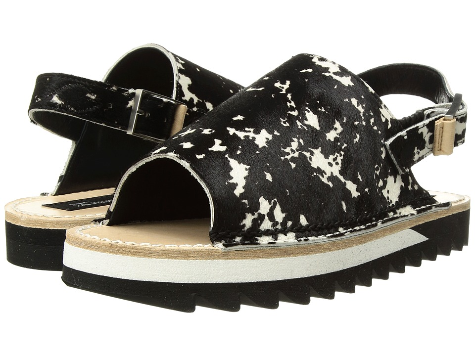 Y's by Yohji Yamamoto - Shark Sandal Multi (Black/White) Women's Sandals