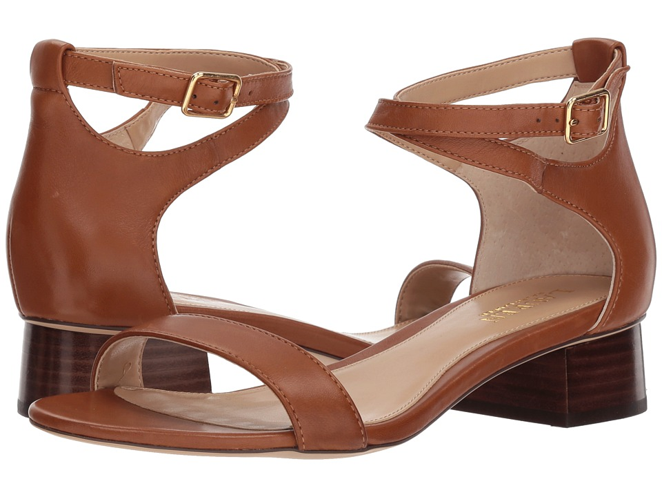 Lauren Ralph Lauren SUPER SOFT MADDIE - Classic heels - deep saddle tan tsMqF