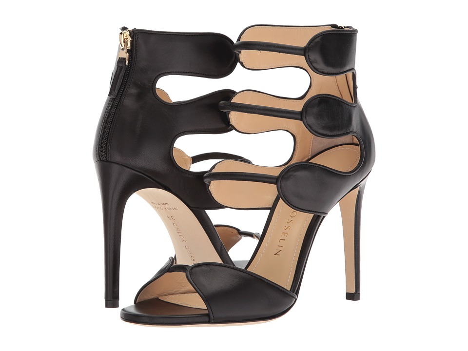 CHLOE GOSSELIN - Larkspur Heel (Black Nappa) Womens Shoes