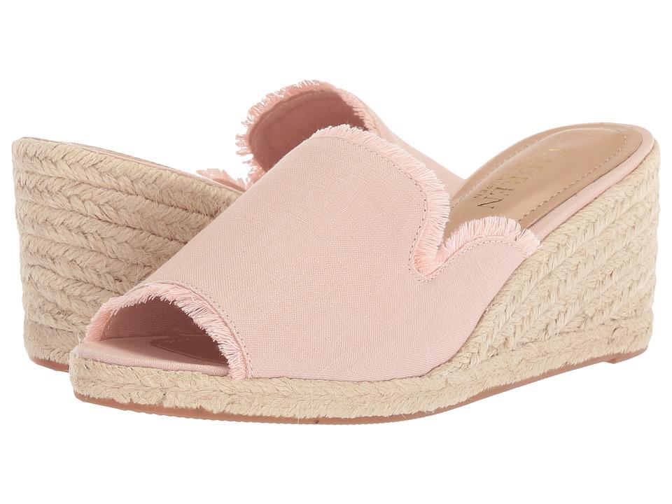 LAUREN Ralph Lauren Carlynda (Dusty Pink Linen) Women's Shoes