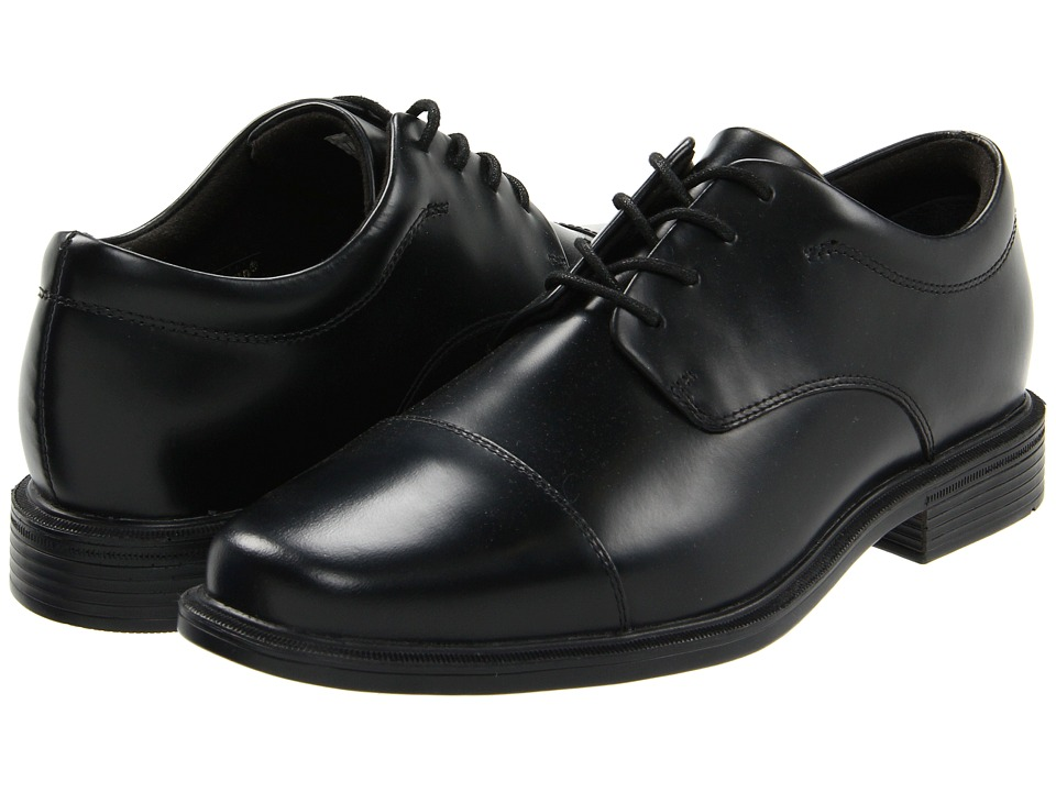 Rockport - Office Essentials Ellingwood (Black) Mens Lace Up Cap Toe Shoes