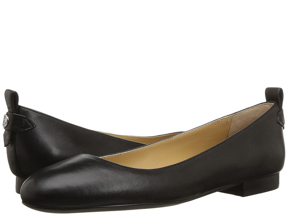 LAUREN Ralph Lauren Glenna (Black Super Soft Leather) Women