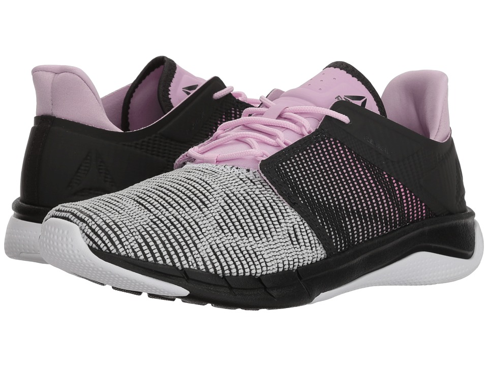 Reebok Flexweave Run (Coal/Acid Pink/Moonglow/White) Women's Shoes