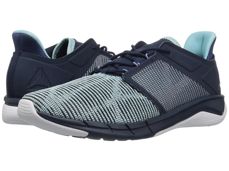 Reebok Flexweave Run (Collegiate Navy/Rain Cloud/Blue Lagoon/White) Women's Shoes
