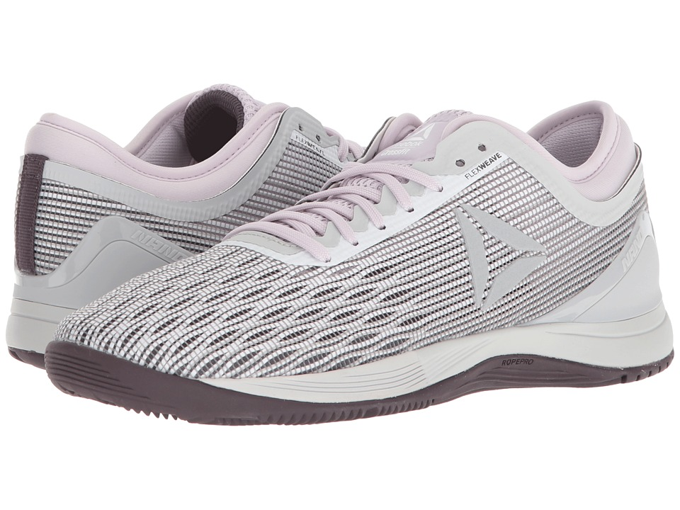 9d9e4dcfb19180 Reebok CrossFit(r) Nano 8.0 (White Stark Grey Quartz Smoky Volcano) Women s  Shoes from  129.95 - Nextag