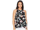 Vince Camuto Sleeveless Floral Gardens Blouse