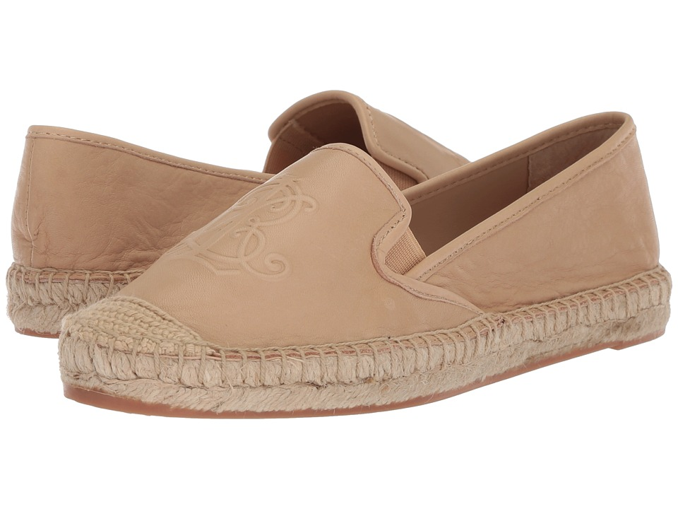 LAUREN Ralph Lauren Destini (Straw Super Soft Leather) Women's Shoes