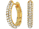 Cole Haan Pave Huggie Hoop Earrings