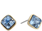 Cole Haan Cushion Cut Stone Stud Earrings