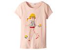 Sonia Rykiel Kids Antilla Short Sleeve T-Shirt w/ Rykiel Girl Design on Front (Toddler/Little Kids/Big Kids)