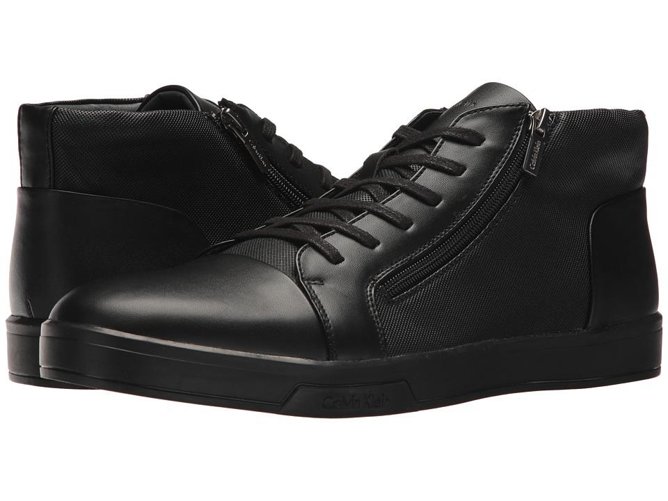 Calvin Klein Bozeman (Black Brushed Smooth/Diamond) Men