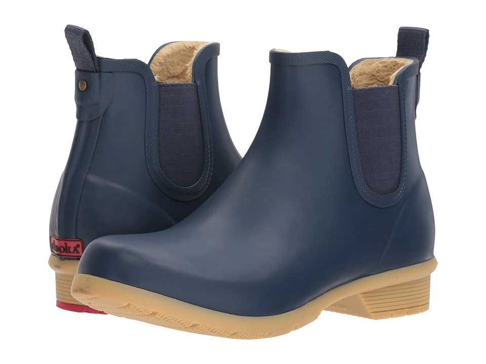 Chooka Bainbridge Chelsea Ankle Boot (Navy) Women