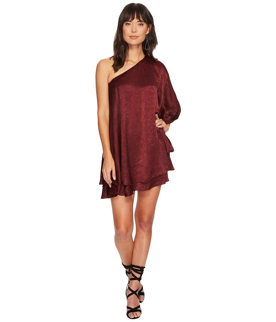 Show Me Your Mumu Zsa Zsa Dress (Wine Sheen) Women
